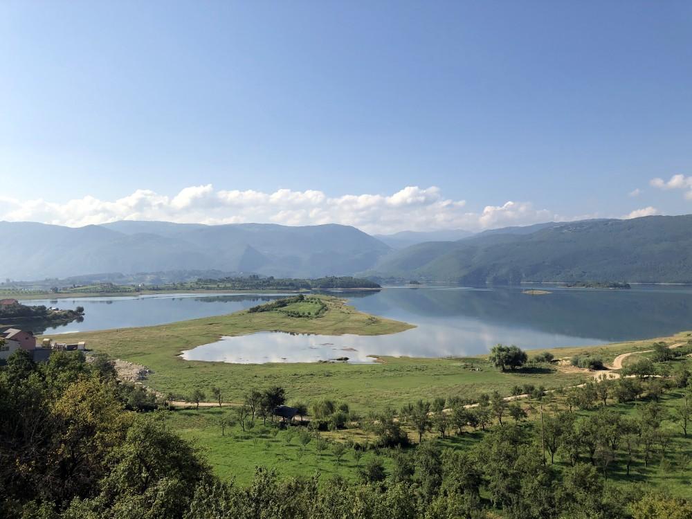 Rama lake in Bosnia, unedited.