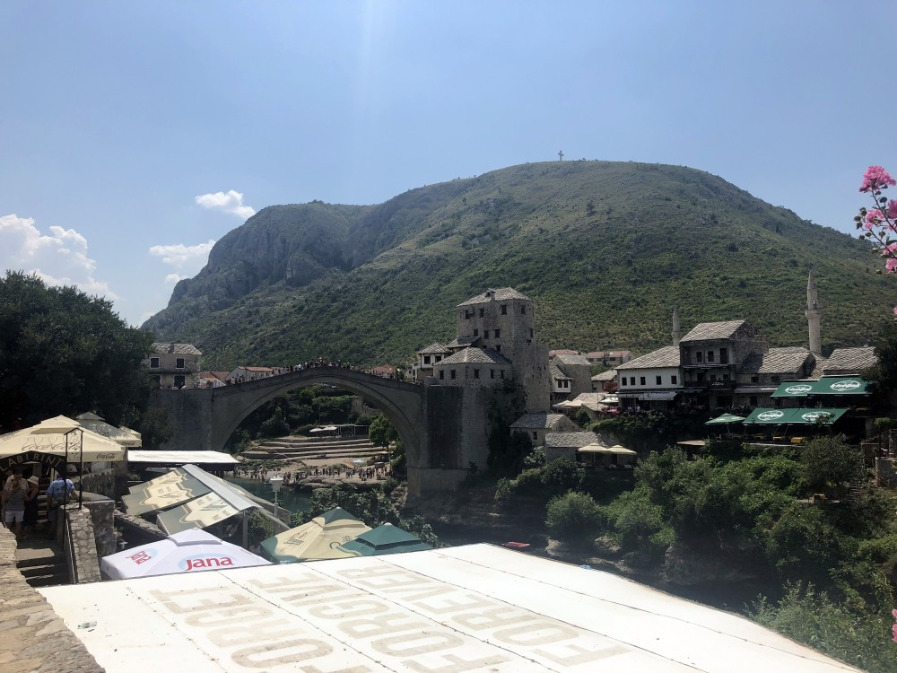 Old Bridge in Mostar.